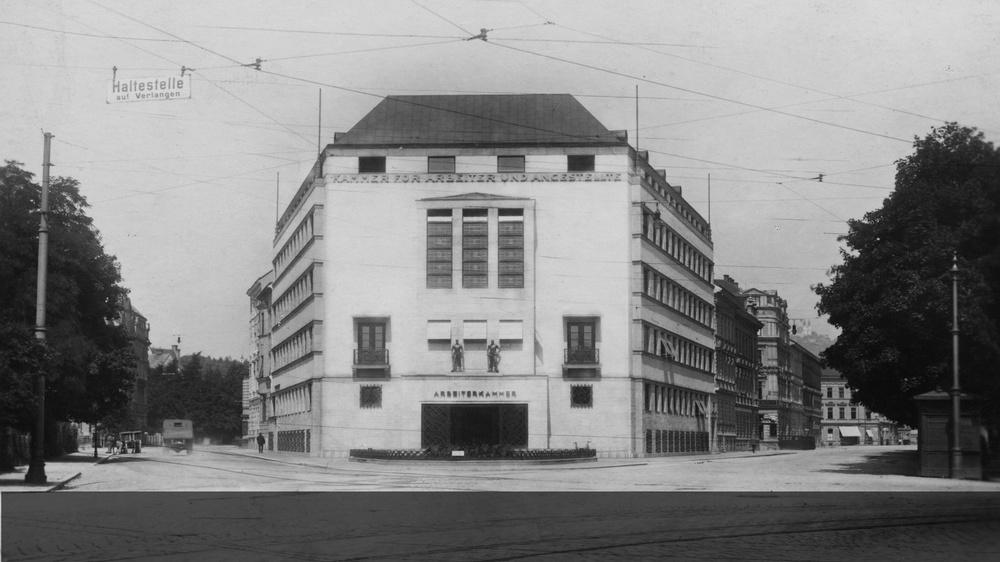 AK Gebäude Linz © -, Verein Geschichte teilen