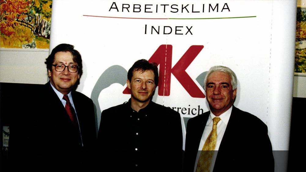 Arbeitsklima Index Pressekonferenz © -, AKOÖ