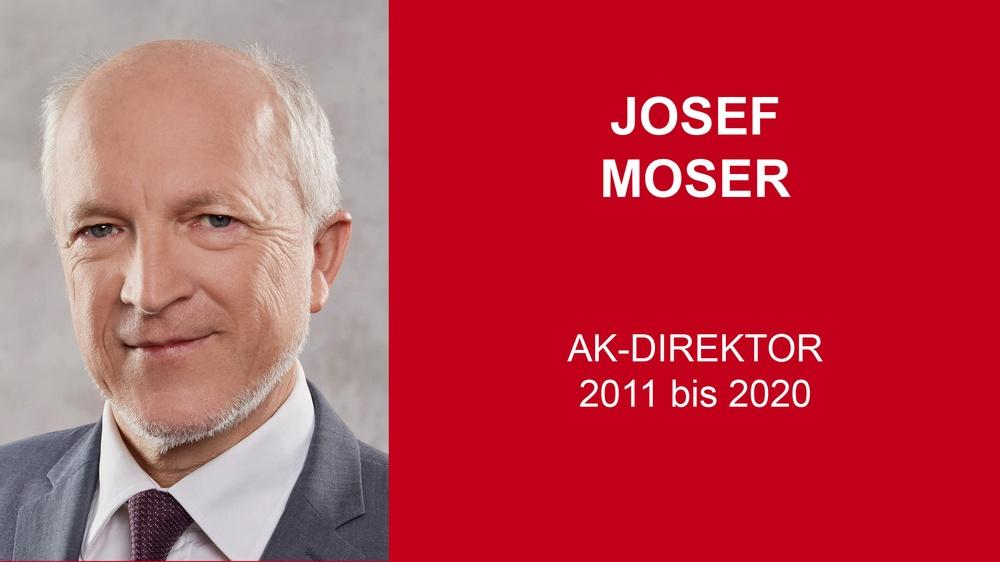 Josef Moser © Florian Stöllinger, AKOÖ