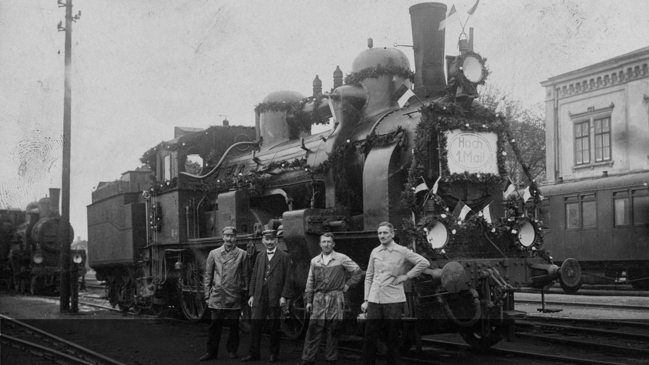 Bahnbedienstete © -, Sammlung Gstöttenmayer / Verein Geschichte teilen