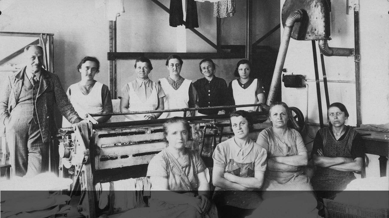 Frauen in einer Wäscherei © -, Sammlung Gstöttenmayer / Verein Geschichte teilen