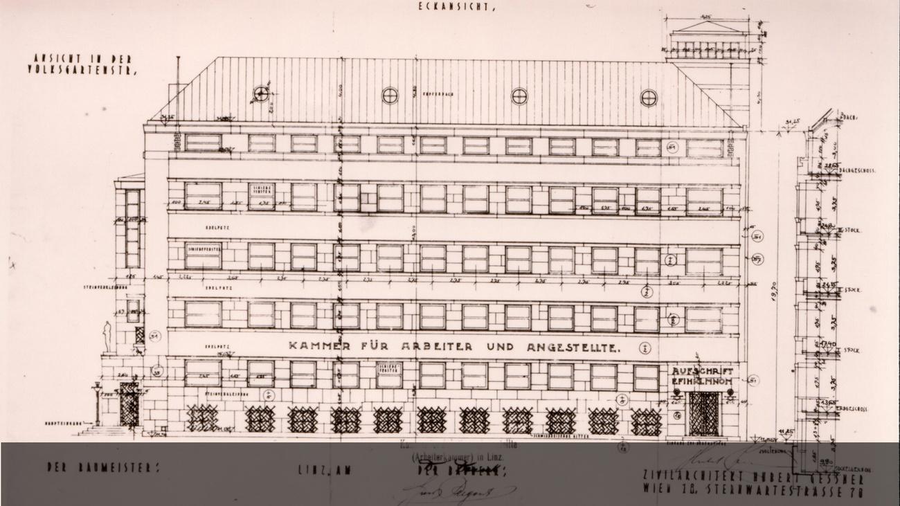 Fassadenplan © -, AKOÖ