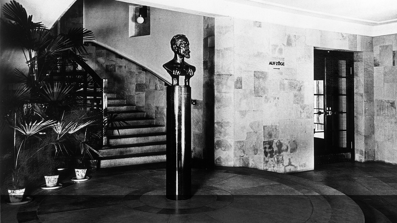 Büste von Ferdinand Hanusch © -, Archiv MK Wien