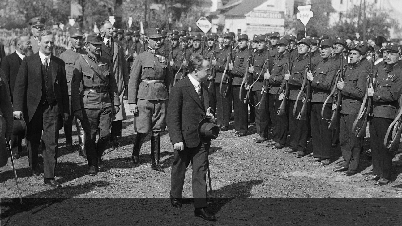Bauernaufmarsch in Linz 1934 © -, Archiv der Stadt Linz