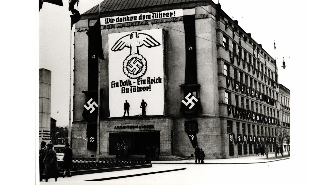 AK Gebäude 1938 © -, AKOÖ