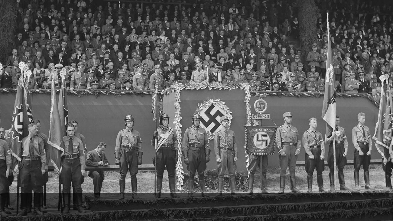 Maifeier der DAF © -, Archiv der Stadt Linz