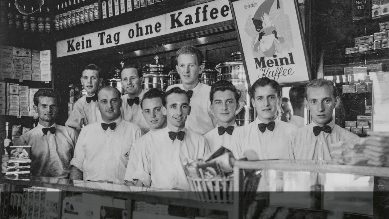 Verkäufer © -, Sammlung Samhaber / Verein Geschichte teilen